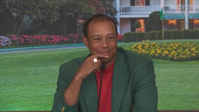 Tiger Woods comments after winning the Masters
