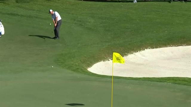 Davis Love III's hole-out chip shot at Honda