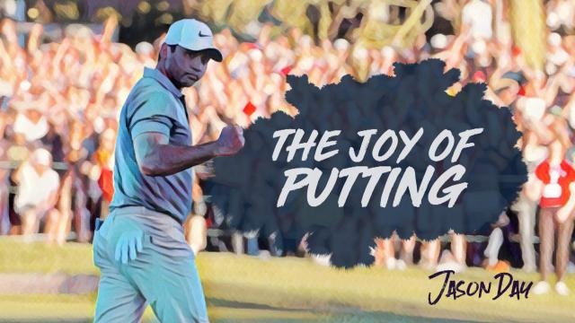 Jason Day's putting artistry