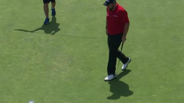 Shane Lowry's 24-foot birdie putt on No. 9 at RBC Canadian