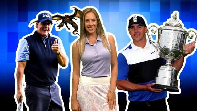 Koepka takes throne early, DJ battles and Phil activates thumbs