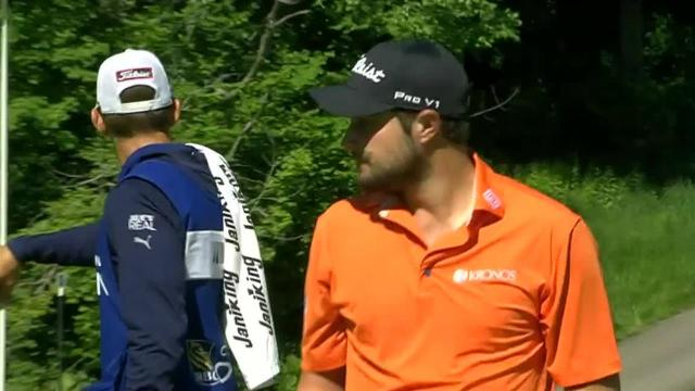 Peter Uihlein's approach to 3 feet leads to birdie at RBC Canadian