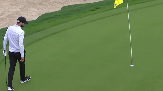 Kyle Stanley's solid bump-and-run on No. 10 at Valero