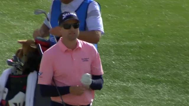 Russell Knox uses short game to set up birdie at The American Express
