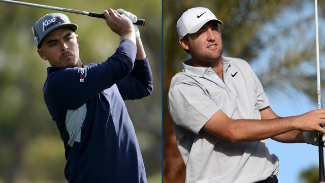 Fowler, Scheffler share 36-hole lead at The American Express
