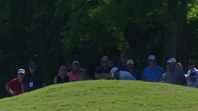 Brian Stuard nearly holes out to set up birdie at Zurich Classic