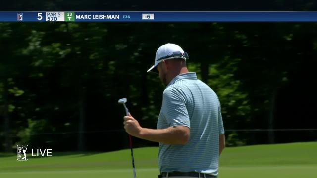 Marc Leishman birdies No. 5 in Round 2 at AT&T Byron Nelson
