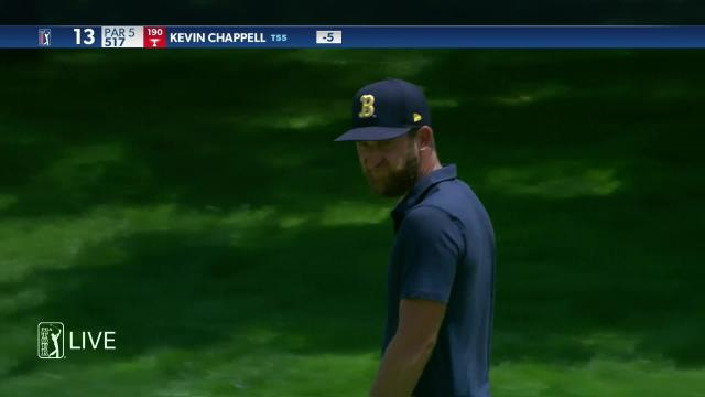 Kevin Chappell makes birdie on No. 13 in Round 4 at Travelers