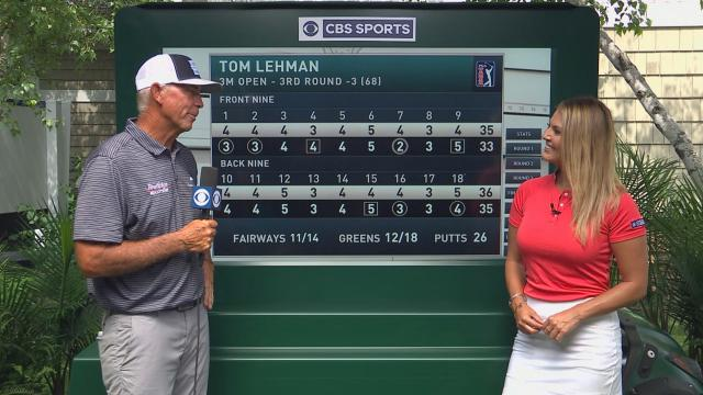Tom Lehman's interview after Round 3 of 3M Open