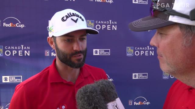 Adam Hadwin interview after Round 3 of RBC Canadian