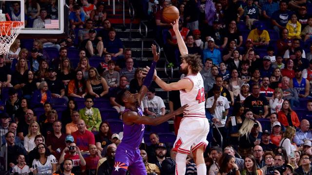 Lopez helps Bulls end losing streak, beat Suns 116-101