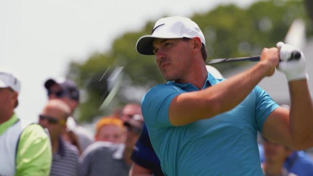 Brooks Koepka doesn't rely on strength to win