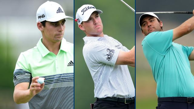 Three share the 36-hole lead at The Greenbrier