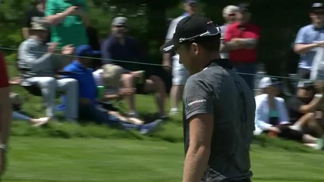 Danny Willett's solid birdie putt on No. 16 at RBC Canadian