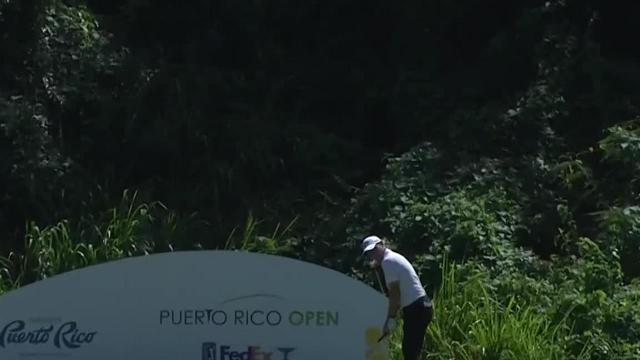 Emiliano Grillo birdies No. 8 at Puerto Rico