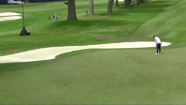 Scottie Scheffler's 42-foot birdie putt at PGA Championship
