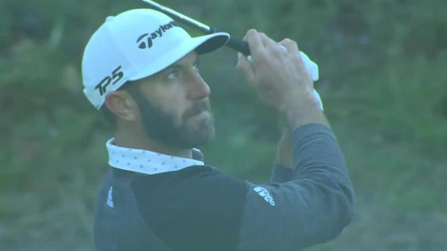 Dustin Johnson sticks approach to set up birdie at Genesis