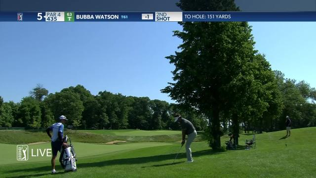 Bubba Watson birdies No. 5 in Round 2 at 3M Open