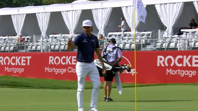 Today's Top Plays: Rickie Fowler's eagle hole out tops Shots of the Week