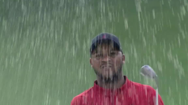 Harold Varner III gets up-and-down from bunker at Wells Fargo