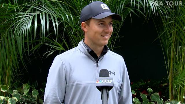 Jordan Spieth's interview after Round 3 of Arnold Palmer