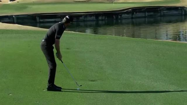 Jimmy Walker sticks approach to set up birdie at The American Express