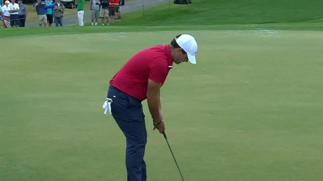 Patrick Reed jars 36-foot birdie putt at Arnold Palmer