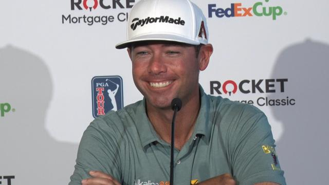 Chez Reavie on his Travelers win before Rocket Mortgage