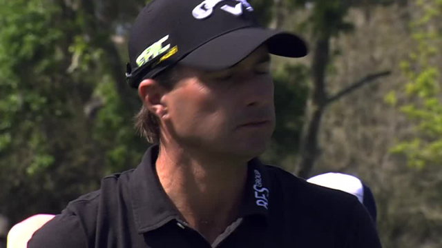 Kevin Kisner's tee shot yields birdie at THE PLAYERS