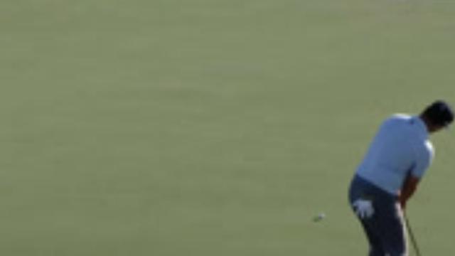 Jon Rahm's clutch eagle putt at Hero