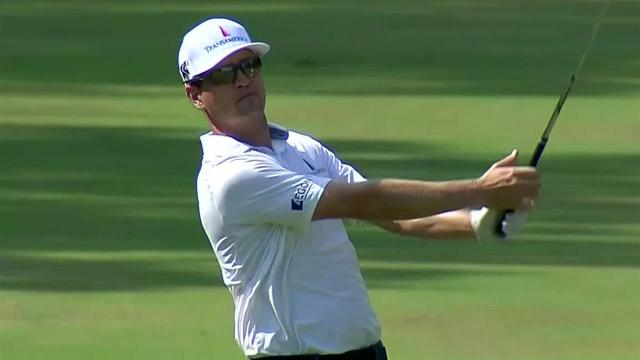 Zach Johnson sticks third shot to set up birdie at Sanderson Farms