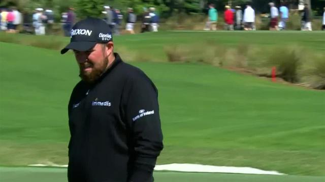 Shane Lowry reaches in two to set up birdie at Honda