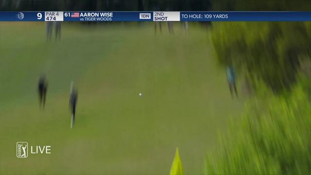 Aaron Rise birdies No. 9 at WGC-Dell Match Play
