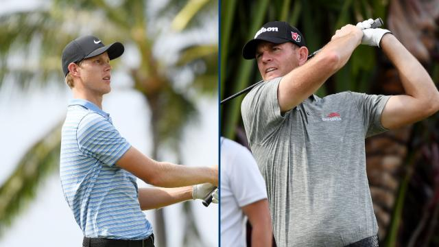 Steele, Davis tied for the lead at the Sony Open