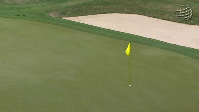Matt Kuchar's approach from the trees sets up birdie putt at WGC-Dell Match Play