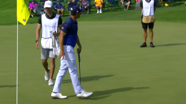Adam Scott uses nice approach to set up birdie at THE PLAYERS