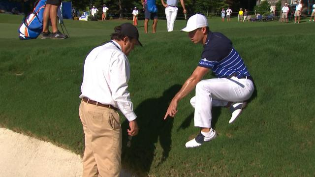 Billy Horschel gets ruling on plugged lie at Wyndham Championship