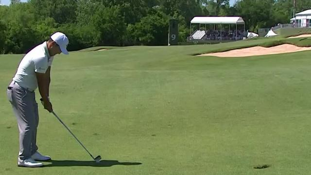 Today's Top Plays: Sung Kang's 210-yard approach for the Shot of the Day