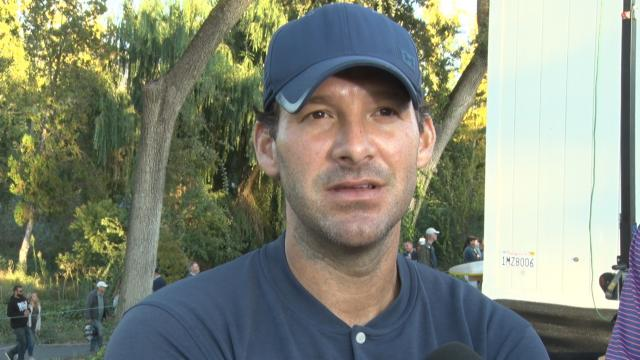 Tony Romo interview after Round 2 of Safeway Open