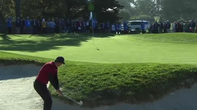 Jason Day's impressive bunker play leads to birdie at AT&T Pebble Beach