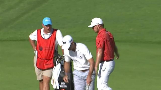 Chris Stroud's bump-and-run for birdie at Mayakoba