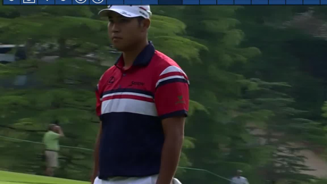 Hideki Matsuyama cards birdie on No. 15 at Wells Fargo