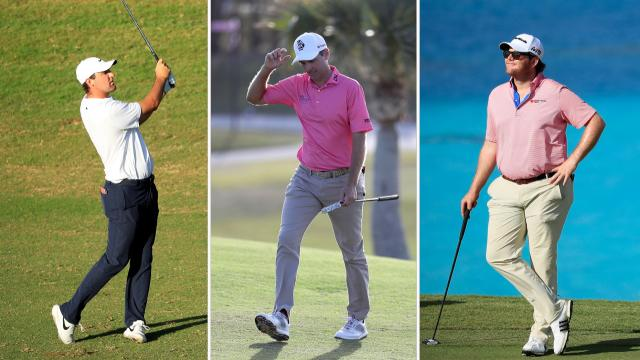 Three tied for the lead at Bermuda