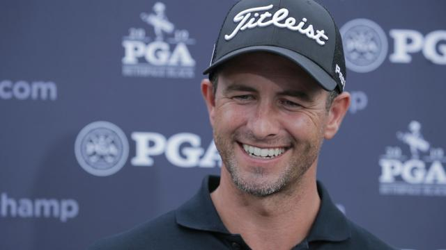Adam Scott comments after Round 2 of the PGA Championship