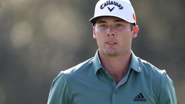 Sam Burns leads by two heading into the weekend at Vivint Houston Open