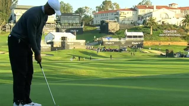 Tiger Woods opens Friday with birdie at Genesis