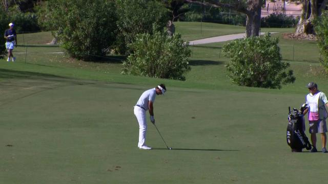 Today's Top Plays: Hank Lebioda's fantastic eagle for Shot of the Day at Bermuda