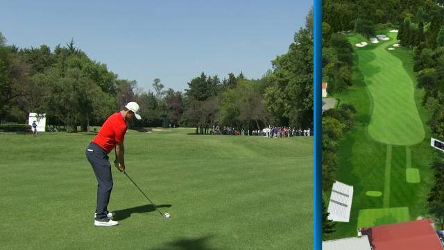 Amazing golf shots called by soccer announcers at WGC-Mexic