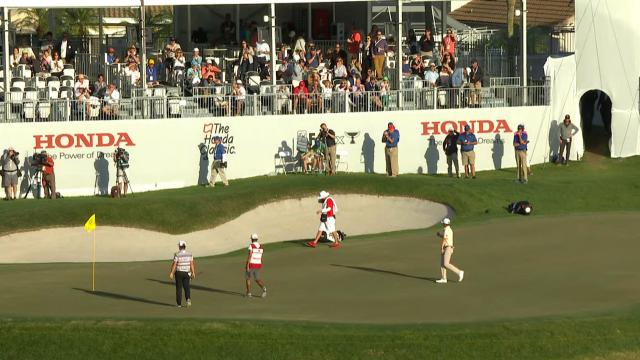 PGA TOUR | Today's Top Plays: Mackenzie Hughes sinks a 53-foot birdie putt for the Shot of the Day