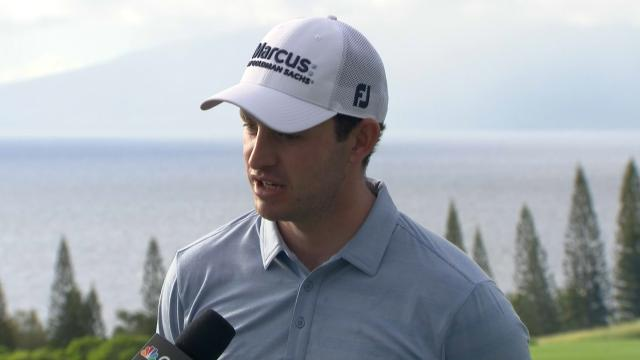 Patrick Cantlay interview after Round 1 of Sentry